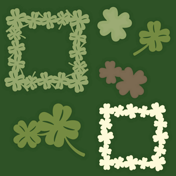 St. Patrick's Day Elements SVG Collection