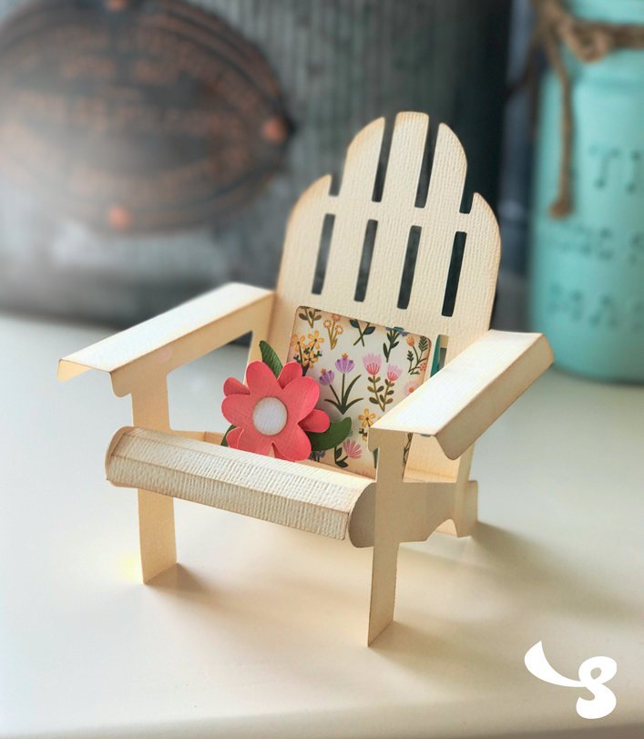 Adirondack Chair Box Card