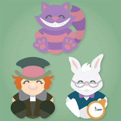 Alice's Cuddly Friends SVG Collection
