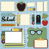 School Days SVG Kit