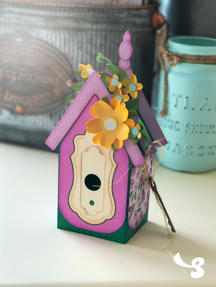Birdhouse Box Card