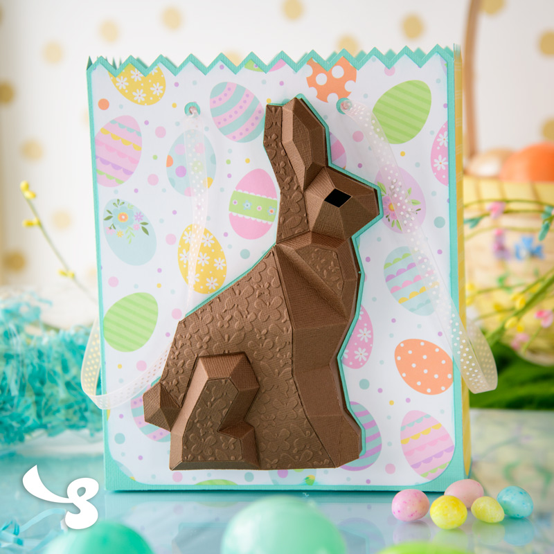 Chocolate Bunny Bag