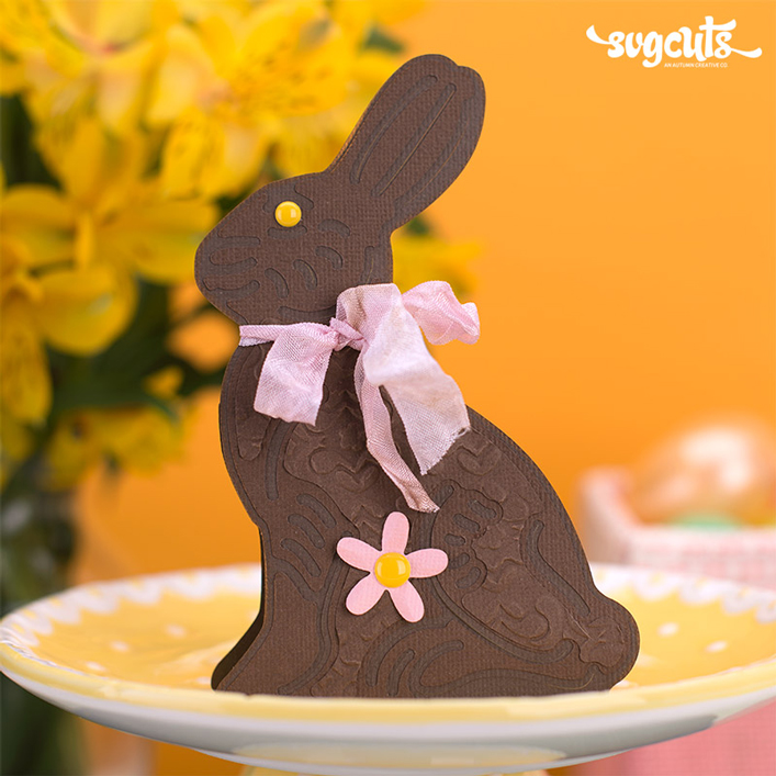 Chocolate Bunny Card