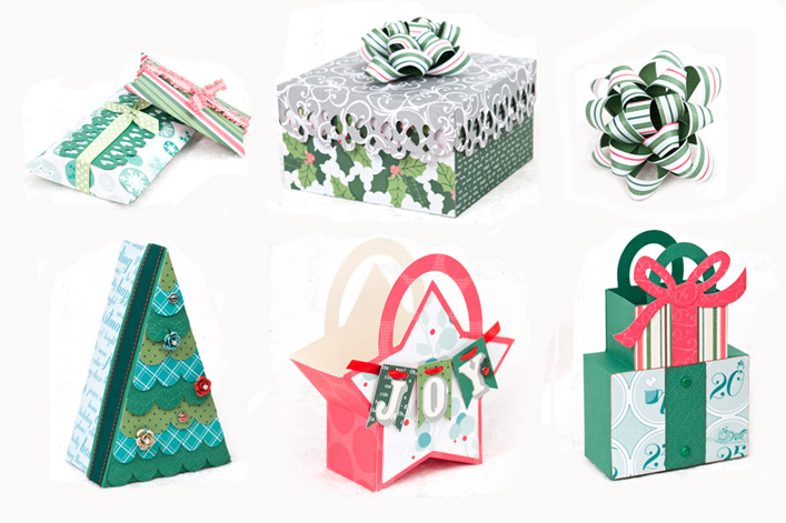 Christmas Gift Bags and Boxes SVG Kit - $6.99 : SVG Files for Cricut ...