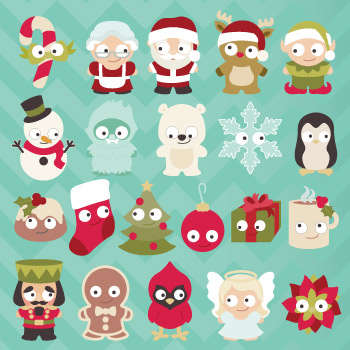 Christmas Cuties SVG Collection