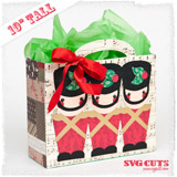 Big Christmas Gift Bags SVG Kit