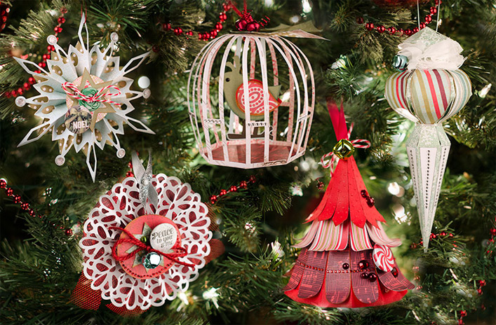 Christmas Ornaments SVG Kit