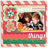 Christmas Scrapbook Pages SVG Kit