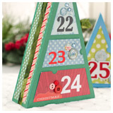 Advent Calendar Trees SVG Kit