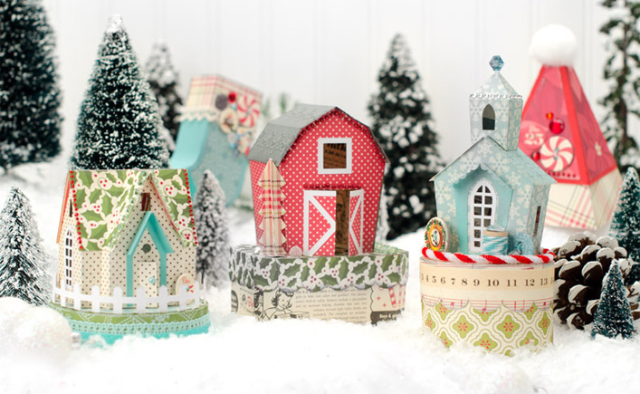 Santa's Village SVG Kit