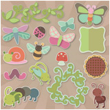 Cheryl's Cute Bugs SVG Kit