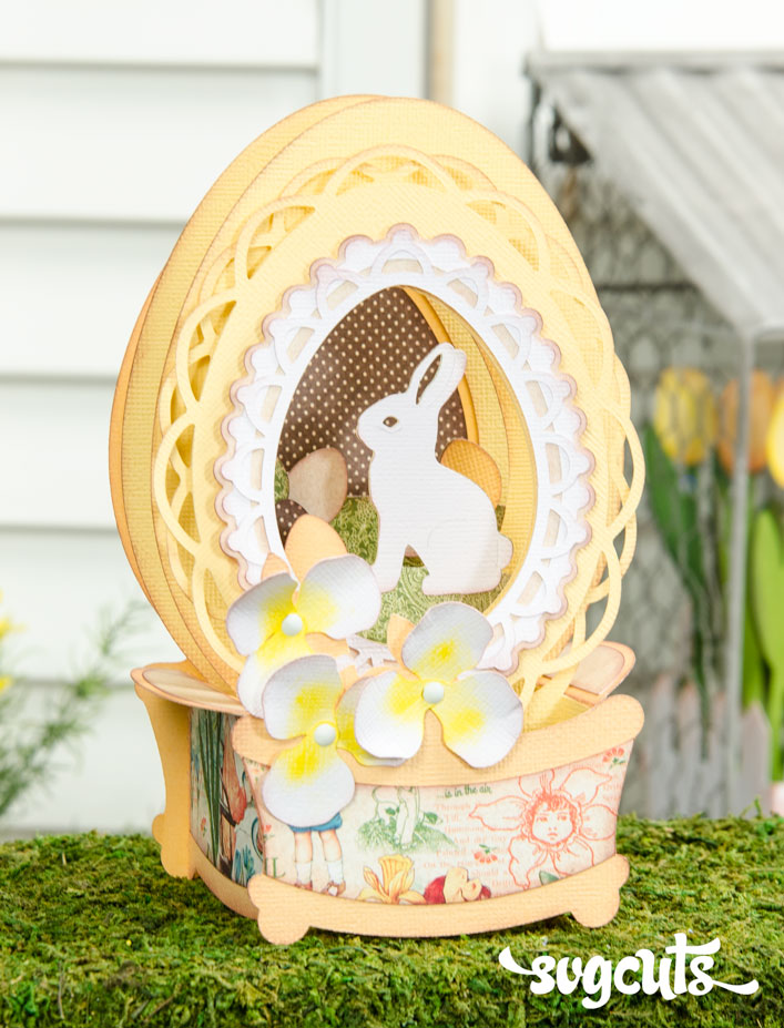 Easter Egg Box Card