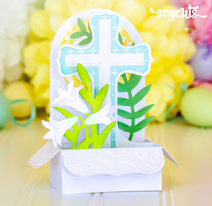 Easter Sunday Box Card