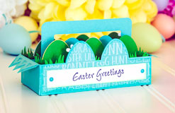 Egg Carton Box Card