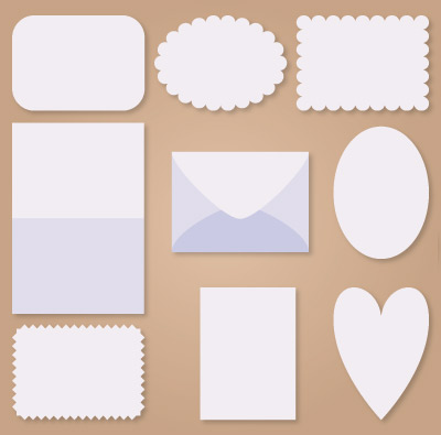 A6 Sized Envelope and Cards SVG Kit