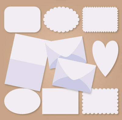 A7 Sized Envelope and Cards with Bonus A7.5 Envelope SVG Kit