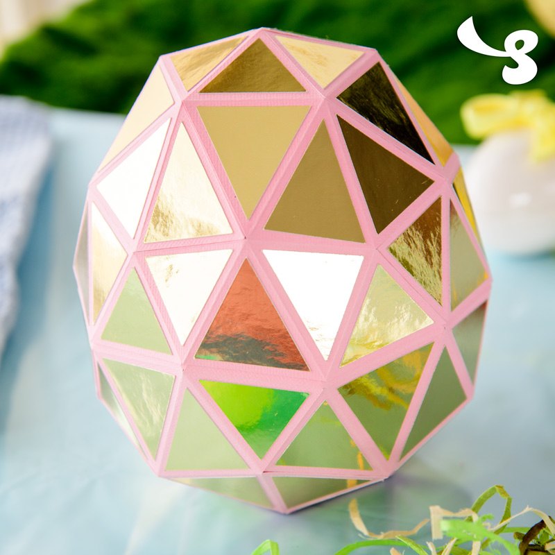 Faceted Goose Egg
