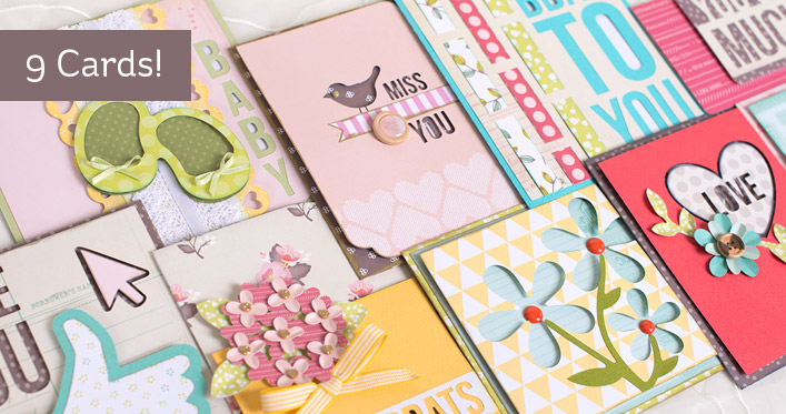 Five-Minute Cards SVG Kit