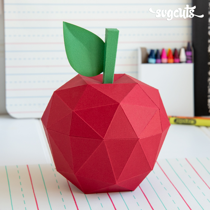 Geometric Apple Box