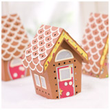 Gingerbread Chalet Village SVG Kit
