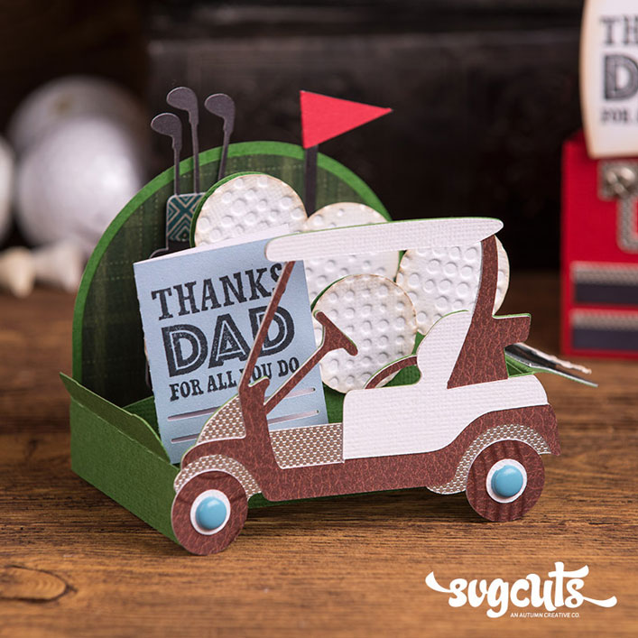Golf Cart Box Card