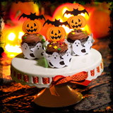Dreadful Halloween Cupcake Wrappers SVG Kit