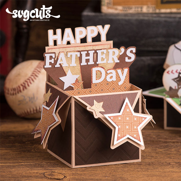 Happy Father's Day Box Card