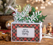 Home For Christmas Box Cards SVG Kit