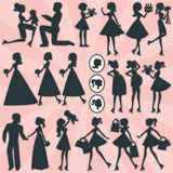 Kate's Silhouettes SVG Collection