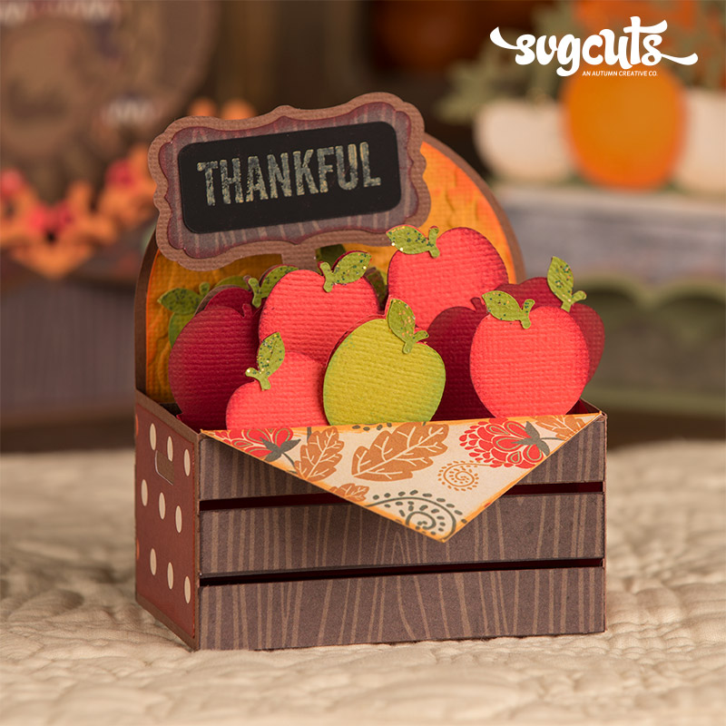 Autumn Box Cards SVG Kit - Click Image to Close