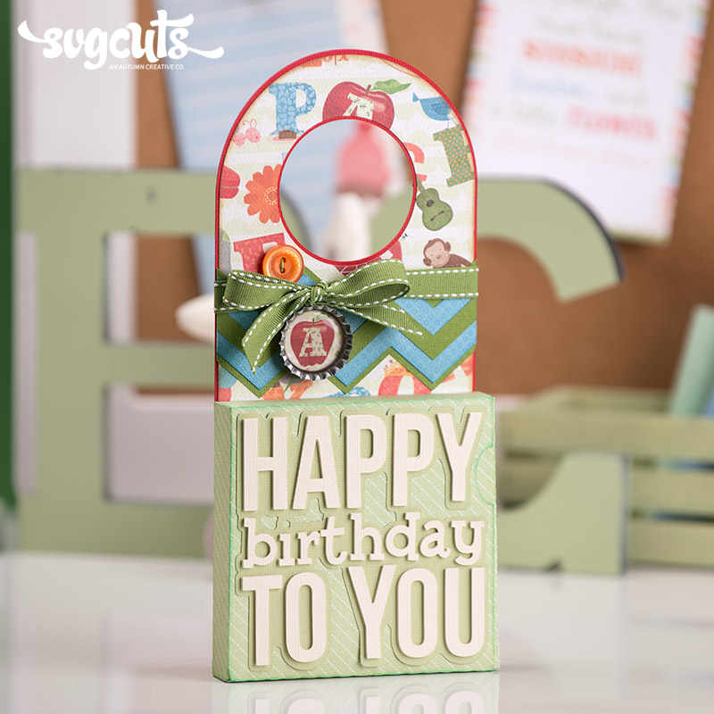 B Is For Birthday SVG Kit - Click Image to Close