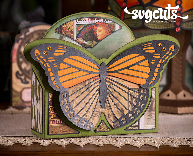 Boho Butterflies SVG Kit - Click Image to Close