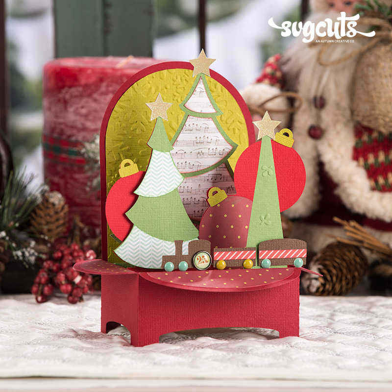 Christmas Box Cards SVG Kit - Click Image to Close