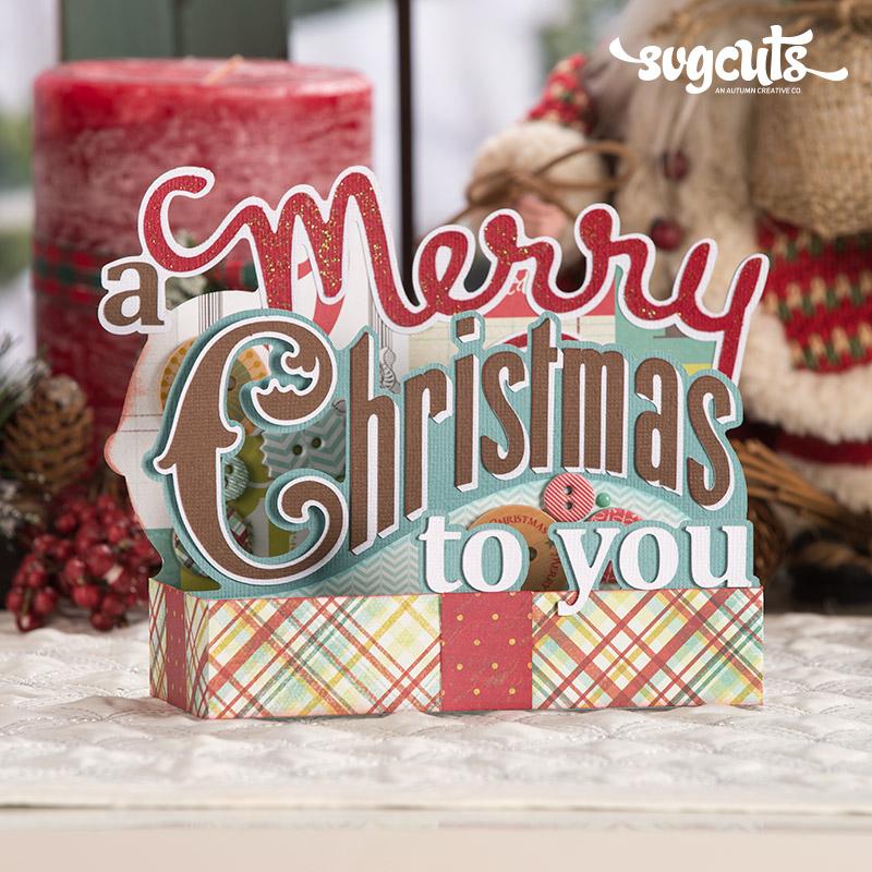 christmas box cards svg kit 6 99 svg files for cricut