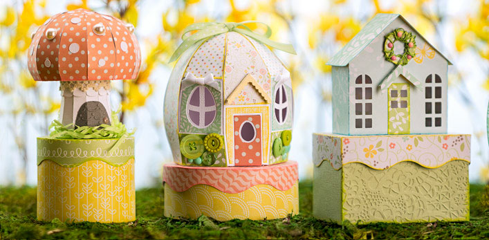 Cotton Tail Village SVG Kit - Click Image to Close