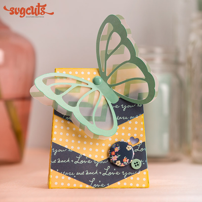 Butterfly Gift Bag - Click Image to Close