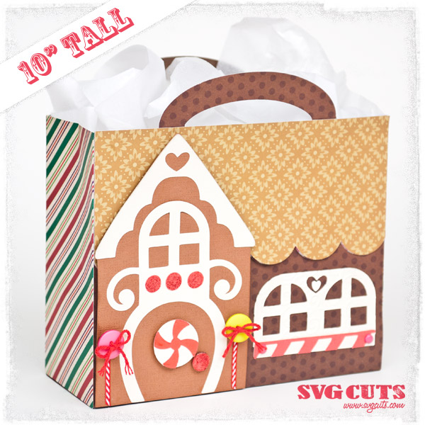 Big Christmas Gift Bags SVG Kit - Click Image to Close