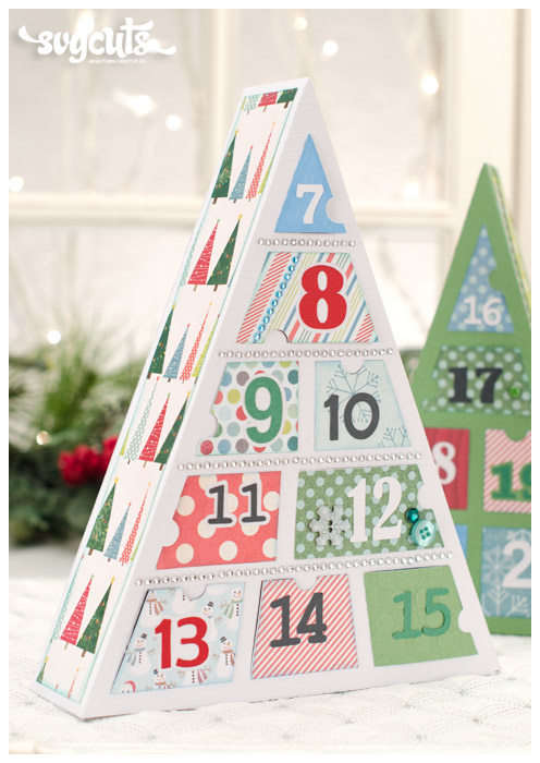 Advent Calendar Trees SVG Kit - Click Image to Close