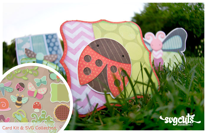 Cheryl's Cute Bugs SVG Kit - Click Image to Close