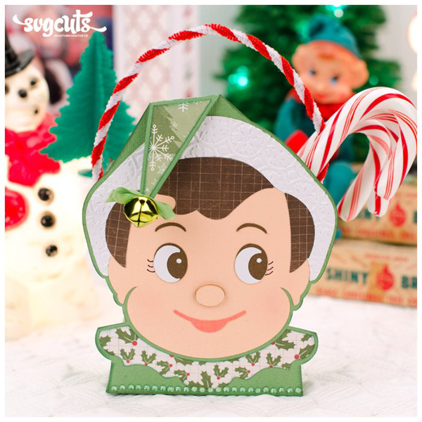 Elf Face Bucket - Click Image to Close