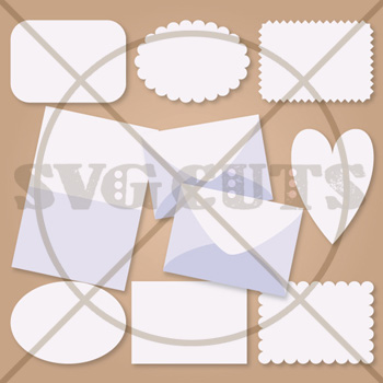 A7 Sized Envelope and Cards with Bonus A7.5 Envelope SVG Kit - Click Image to Close