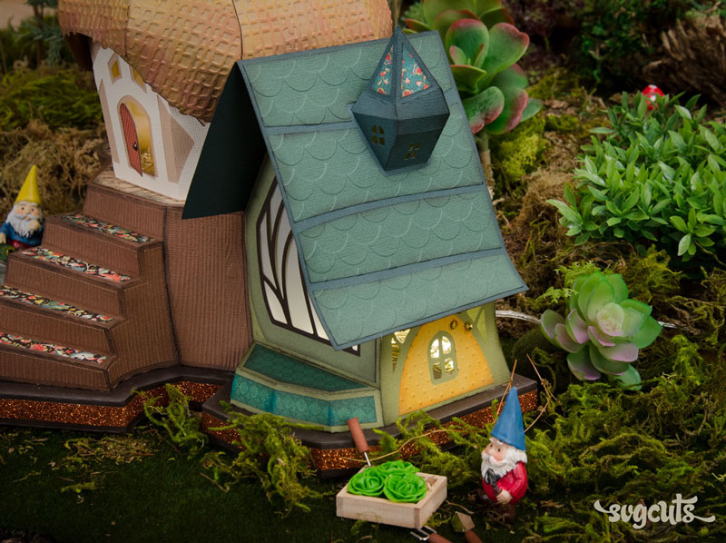 Fairy Cottage SVG Kit - Click Image to Close