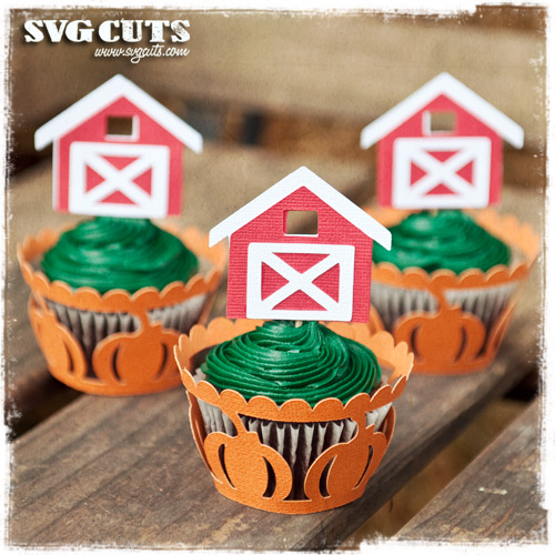 Fall Cider Cupcake Wrappers SVG Kit - Click Image to Close