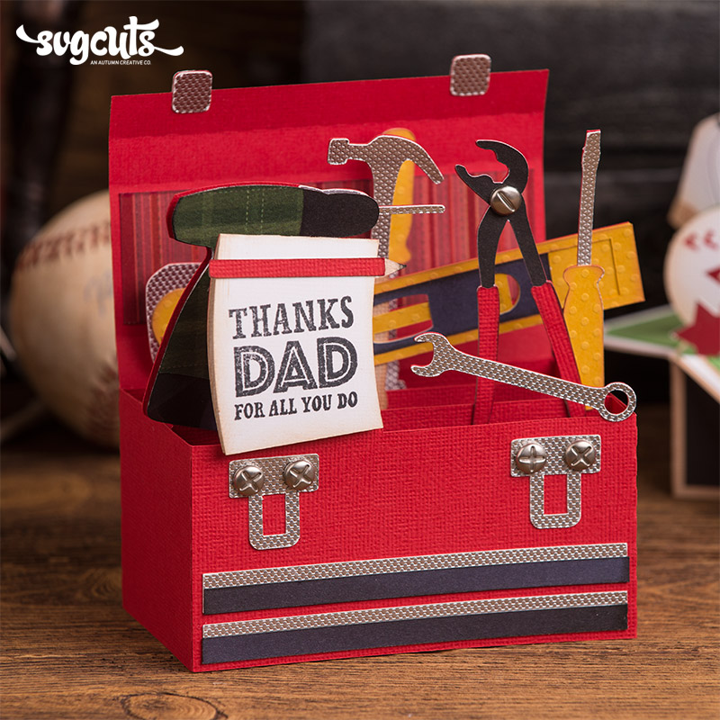 Free Father S Day Box Cards Svg Kit 7 99 Svg Files For Cricut Silhouette Sizzix And Sure Cuts A Lot Svgcuts Com SVG, PNG, EPS DXF File