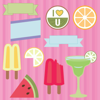 Fruity Fiesta SVG Kit - Click Image to Close