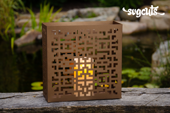 Geo Tile Lantern - Click Image to Close