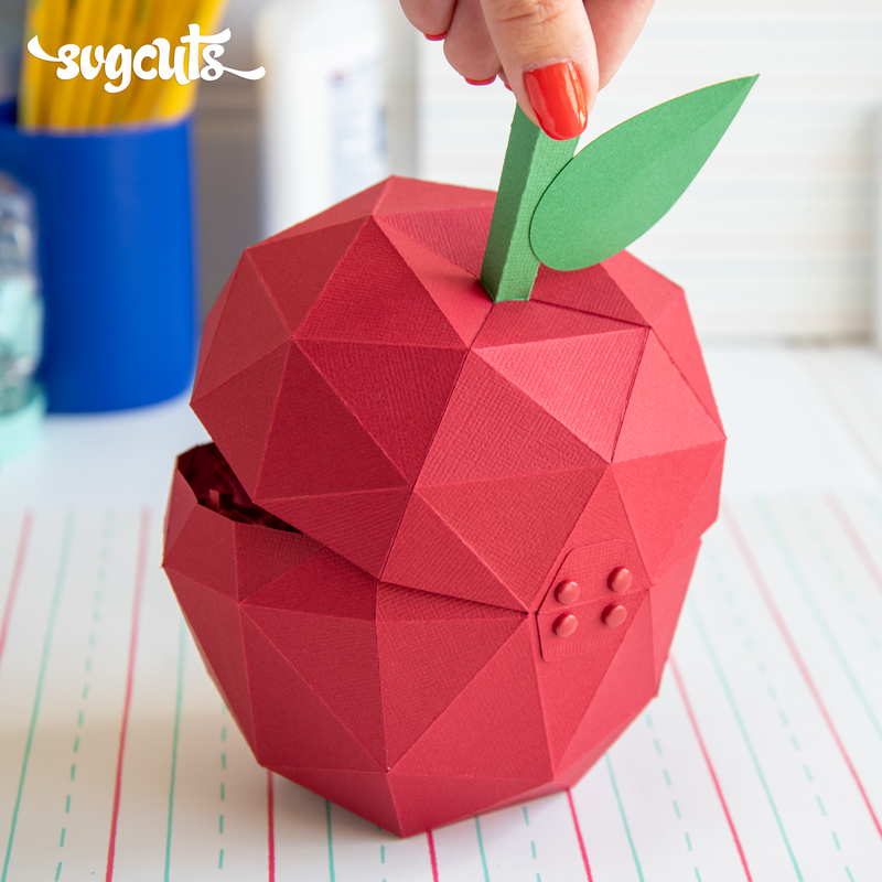 Geometric Apple Box - Click Image to Close