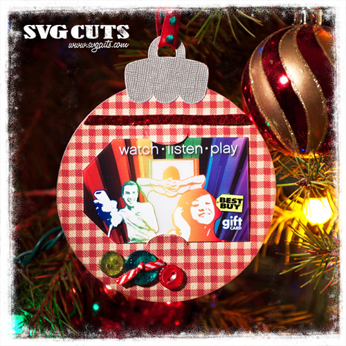 Give a Gift Card SVG Kit - Click Image to Close