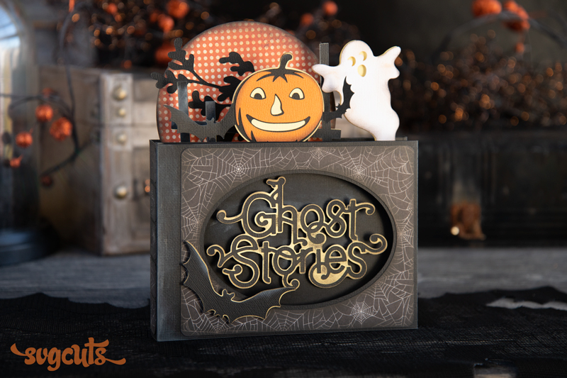 Halloween Box Cards SVG Kit - Click Image to Close