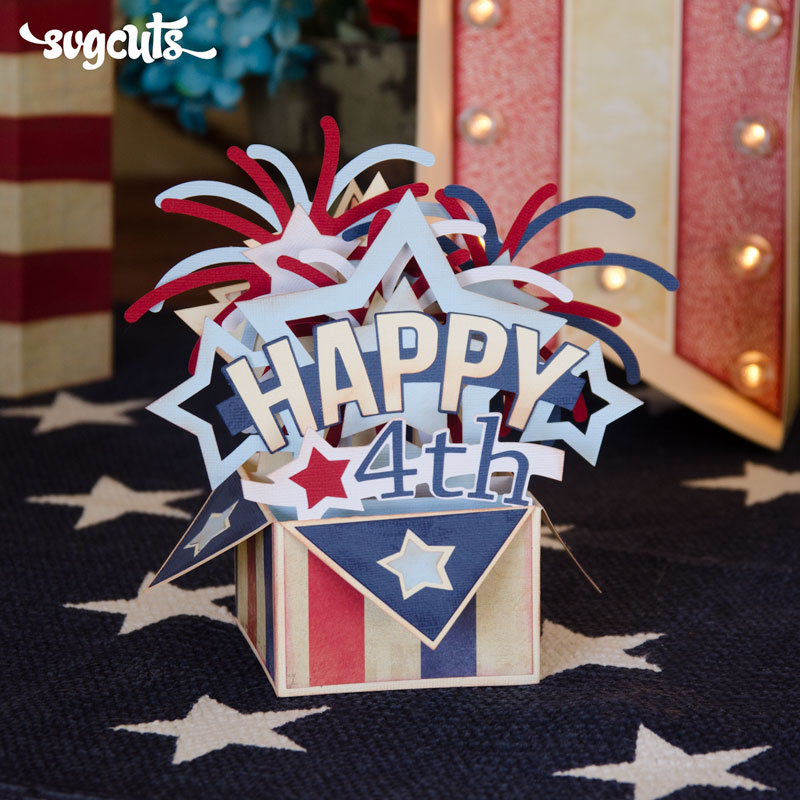 Happy 4th SVG Kit - Click Image to Close